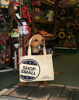 dog bag crop